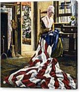 Betsy Ross (1752-1836) Acrylic Print