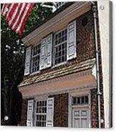 Betsy Ross House Acrylic Print