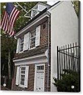 Betsy Ross House Philadelphia Pennsylvania Acrylic Print