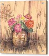Betsy's Flowers 2 Acrylic Print