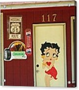 Betty Boop 2 Acrylic Print