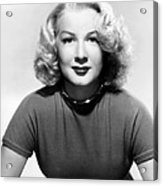 Betty Hutton, 1947 Acrylic Print