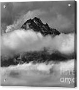 Between Cloud Layers Acrylic Print