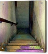 Between Floors Acrylic Print