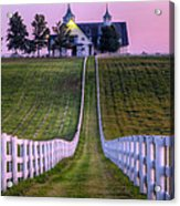 Between The Fences Acrylic Print