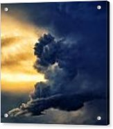 Between The Storms Acrylic Print by Dan Quam