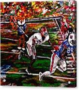 Beware Of The Tiger - Auburn Vs Georgia Football Acrylic Print by Mark Moore