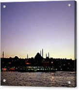 Bewitching Istanbul Acrylic Print
