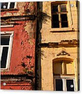 Beyoglu Old Houses 02 Acrylic Print by Rick Piper Photography