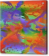 Beyond The Albatross Rainbow Acrylic Print