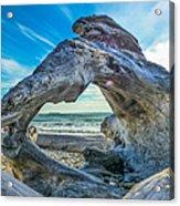 Beyond The Beach Acrylic Print