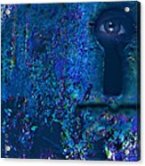 Beyond The Door - Abstract Acrylic Print