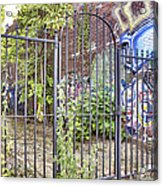 Beyond The Gate Acrylic Print by Jason Politte