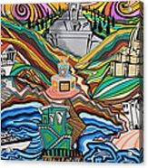 Beyond The Sea Acrylic Print by Carlos Martinez