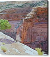 Beyond Time At Painted Rock Acrylic Print