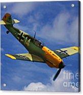 Bf 109 Messerschmitt  Acrylic Print