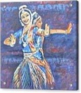Bharatha Naatyam Acrylic Print