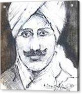 Bharathi Acrylic Print