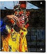 Bian Jiang Dancer Lux Hp Acrylic Print