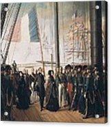 Biard, Fran�ois Auguste 1799-1882 Acrylic Print