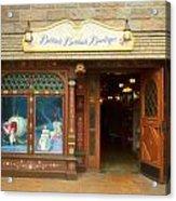 Bibbidi Bobbidi Boutique Fantasyland Disneyland Acrylic Print