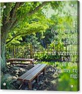 Bible Verse 01 Acrylic Print