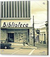 Biblioteca Cubana Acrylic Print