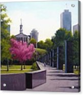 Bicentennial Capital Mall Park Acrylic Print by Janet King
