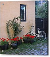 Bicycle At Rest Acrylic Print