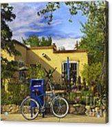 Bicycle In Santa Fe Acrylic Print