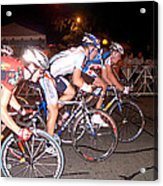 Bicycle Race By Jan Marvin Acrylic Print