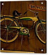 Bicycle Shop Acrylic Print