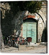 Bicycle Stop Acrylic Print