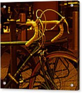 Bicyclette Acrylic Print by BandC  Photography
