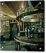 Biddy Mulligans Pub. Edinburgh. Scotland Acrylic Print by Jenny Rainbow