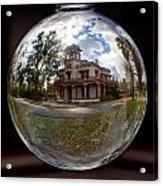 Bidwell Mansion Through A Glass Eye Acrylic Print