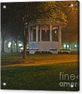Bienville Square Grandstand In A Foggy Mist Acrylic Print