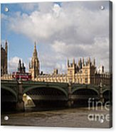Big Ben And Houses Of Parliament Acrylic Print