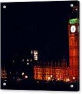 Big Ben At Night Acrylic Print