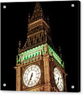 Big Ben Close Up Acrylic Print
