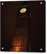 Big Ben In Rainy Night Acrylic Print