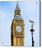 Big Ben Security Acrylic Print