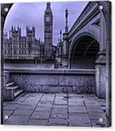 Big Ben Through The Arch Acrylic Print