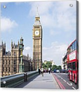 Big Ben Acrylic Print by Trevor Wintle
