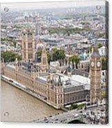 Big Ben Westminster Acrylic Print by Donald Davis