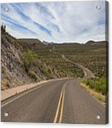 The Winding Roads Of Big Bend National Park Acrylic Print