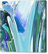 Big Blue Flower Acrylic Print