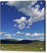 Big Blue Sky  Acrylic Print