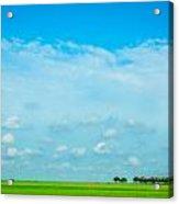 Big Blue Texas Sky Acrylic Print