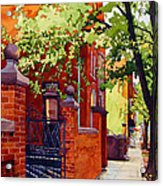 Big Brick Wall Acrylic Print